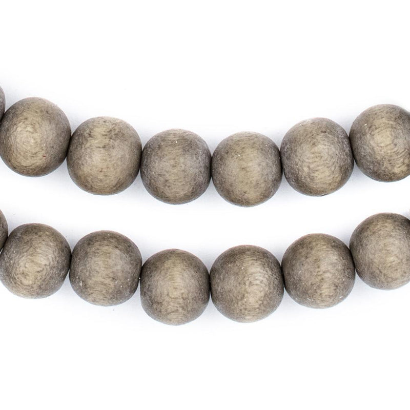 Brown Natural Wood Beads (10mm) - The Bead Chest