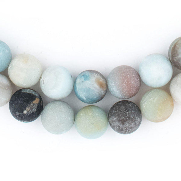 Spherical Amazonite Stone Beads (10mm) - The Bead Chest