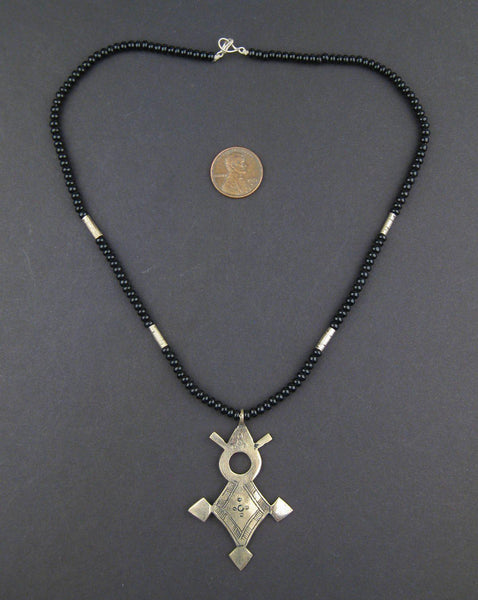Tuareg Cross Pendant (Medium)