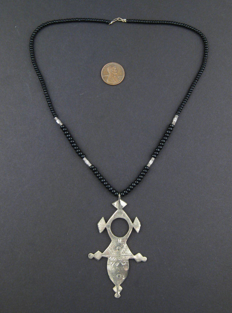 Tuareg Cross Pendant (Large) - The Bead Chest