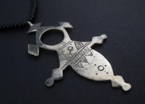 Image of Tuareg Cross Pendant (Large) - The Bead Chest