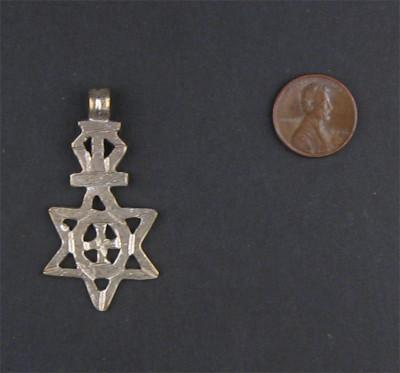 Ethiopian Star of David (medium) - The Bead Chest