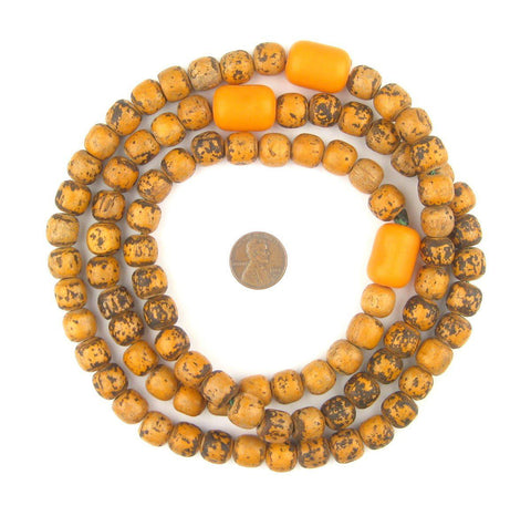 Vintage Wooden Ethiopian Prayer Beads - The Bead Chest