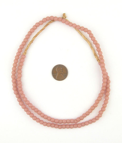 Rose Pink Baby Padre Olombo Beads