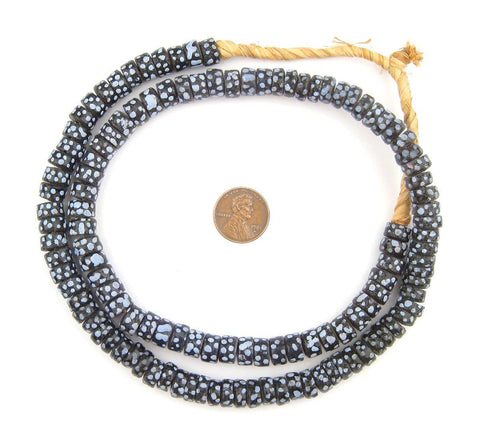 Image of Cylinder Krobo Thousand Eye Beads - The Bead Chest