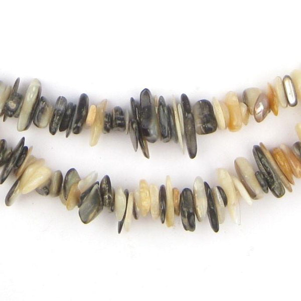 Natural Moroccan Shell Chip Beads - The Bead Chest