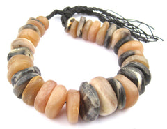 Natural Color Moroccan Horn Beads