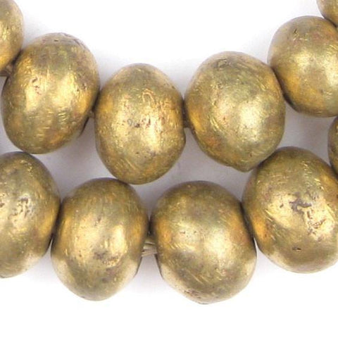 Jumbo Nigerian Brass Beads - The Bead Chest