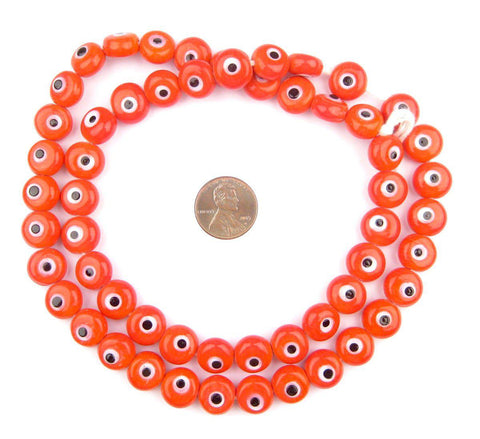 Red Evil Eye Beads - The Bead Chest