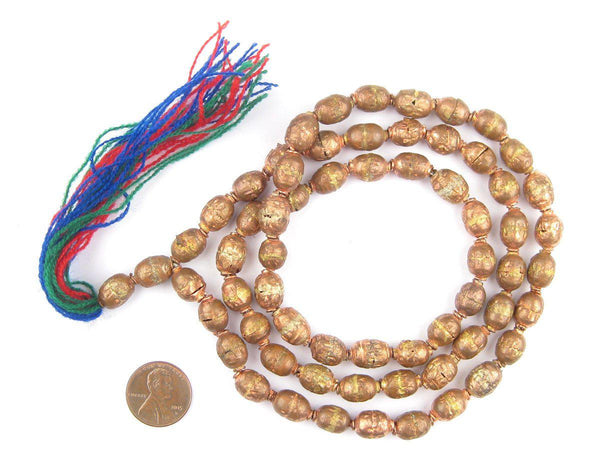 Copper Ethiopian Prayer Beads