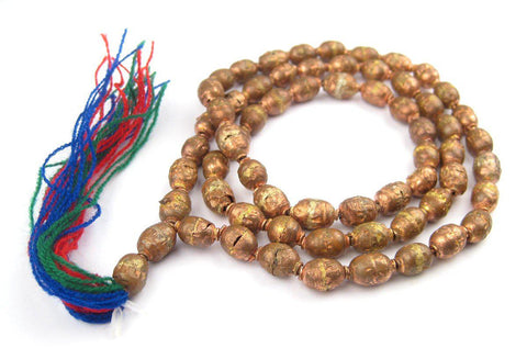 Image of Copper Ethiopian Prayer Beads - The Bead Chest