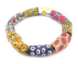 Fancy African Designer Bracelet - The Bead Chest