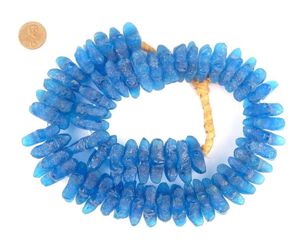 Azul Star Shape Recycled Glass Beads