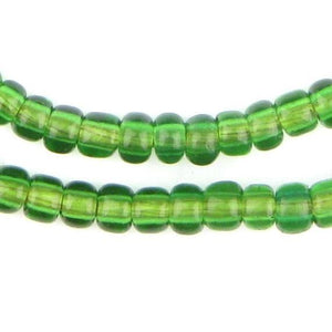 Verdant Green Padre Beads - The Bead Chest