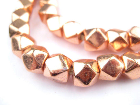 Image of Jumbo Copper Diamond Cut Beads (9mm) - The Bead Chest