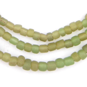 Earth Swirl Java Glass Beads - The Bead Chest