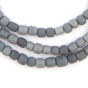 Grey Java Glass Beads - The Bead Chest