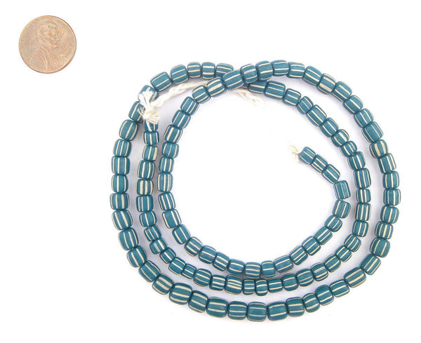 Teal Java Gooseberry Beads