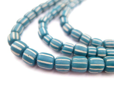 Teal Java Gooseberry Beads - The Bead Chest