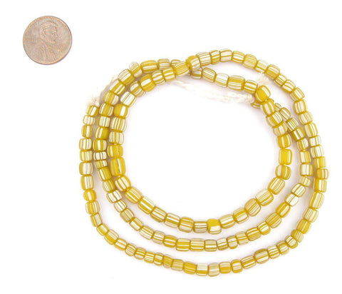 Image of Yellow Java Gooseberry Beads - The Bead Chest