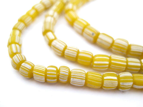 Yellow Java Gooseberry Beads - The Bead Chest