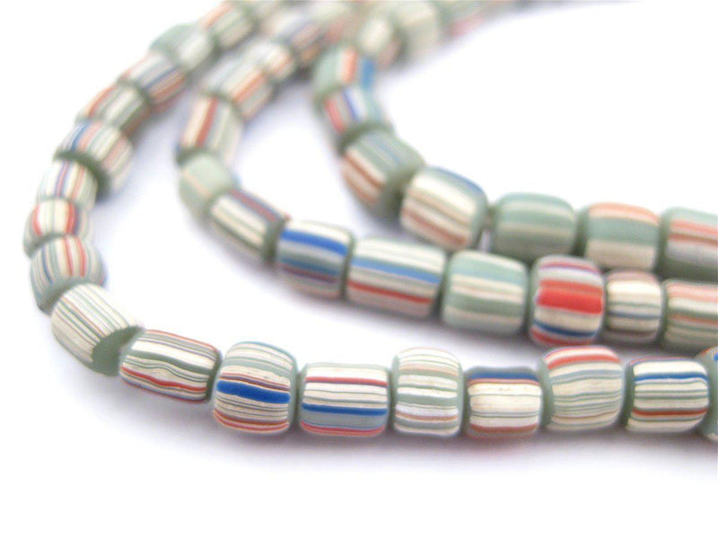 Green Pastel Java Gooseberry Beads - The Bead Chest