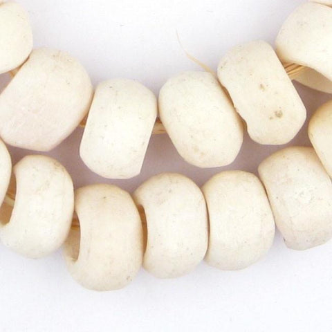 White Bone Beads (Ring) - The Bead Chest