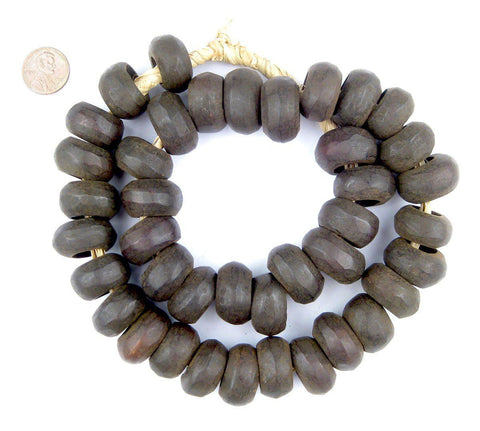 Brown Kenya Bone Beads (Ring) - The Bead Chest