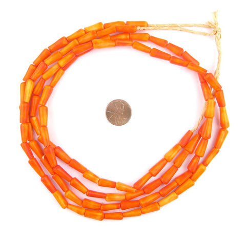 Kenya Coral Bone Beads (Bamboo) - The Bead Chest