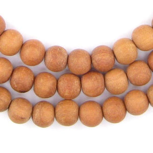 Natural Sandalwood Mala Beads (8mm) - The Bead Chest