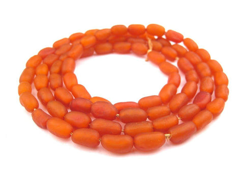 River Amber Natural Seed Beads from Kenya (Oval) - The Bead Chest