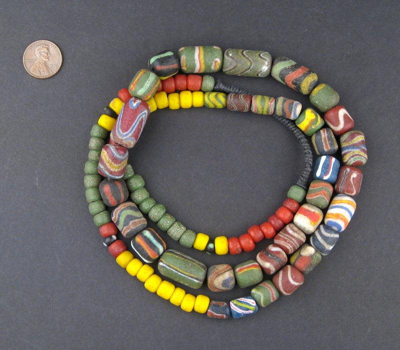 Ancient-Style Indonesian Powder Glass Beads - The Bead Chest