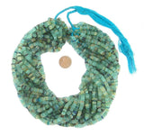 Roman Glass Cylinder Heishi Beads (5mm)