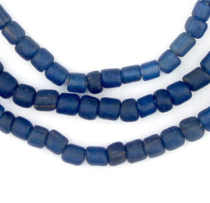 Blue Java Glass Beads - The Bead Chest
