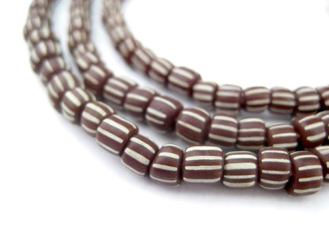 Image of Dark Brown Java Gooseberry Beads - The Bead Chest