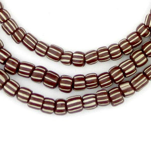 Dark Brown Java Gooseberry Beads - The Bead Chest