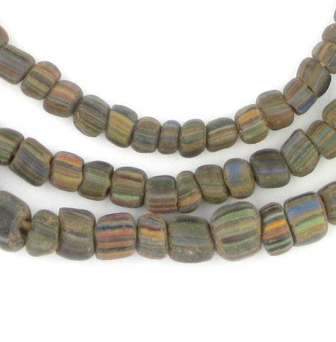 Image of Ancient Stripe Java Gooseberry Beads - The Bead Chest