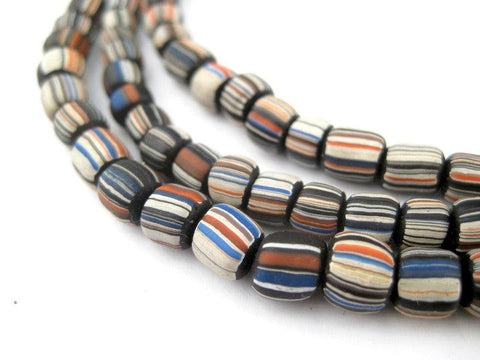 Image of Black Stripe Java Gooseberry Beads - The Bead Chest