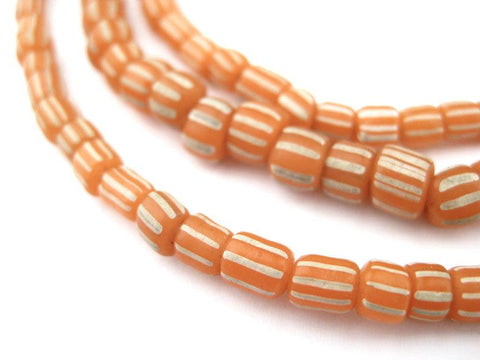Image of Tangerine Orange Java Gooseberry Beads - The Bead Chest