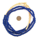 Cobalt Recycled Glass Beads (7mm)
