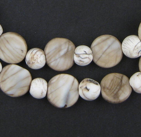 Multi-Shape Medley Shell Beads