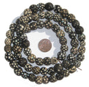 Black Antique Skunk Eye Beads - The Bead Chest