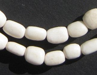 White Bone Beads (Small) - The Bead Chest