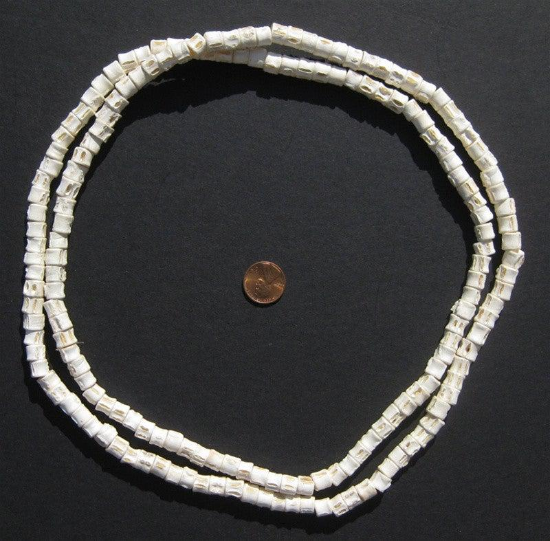 Fish Bone Beads (6-8mm) - The Bead Chest