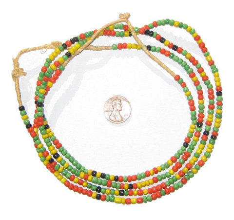 Ghana Byfal Glass Beads - The Bead Chest