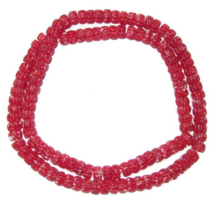 Candy Beads (Red) - The Bead Chest