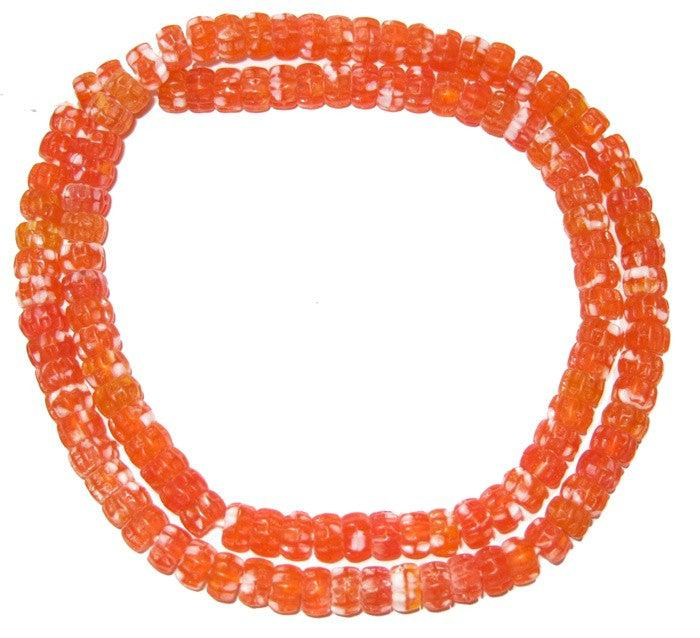 Candy Beads (Orange) - The Bead Chest