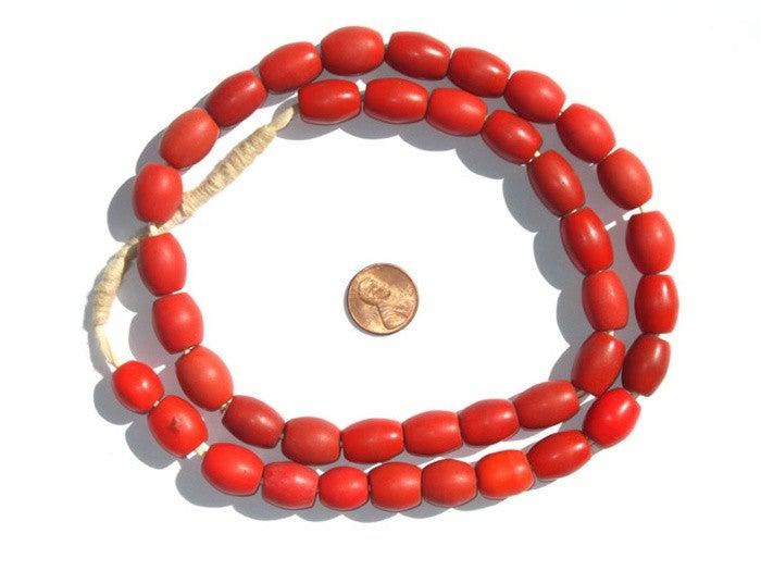 Bohemian Colodonte Beads (Red) - The Bead Chest