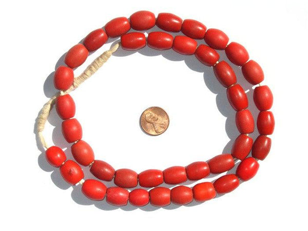 Bohemian Colodonte Beads (Red)