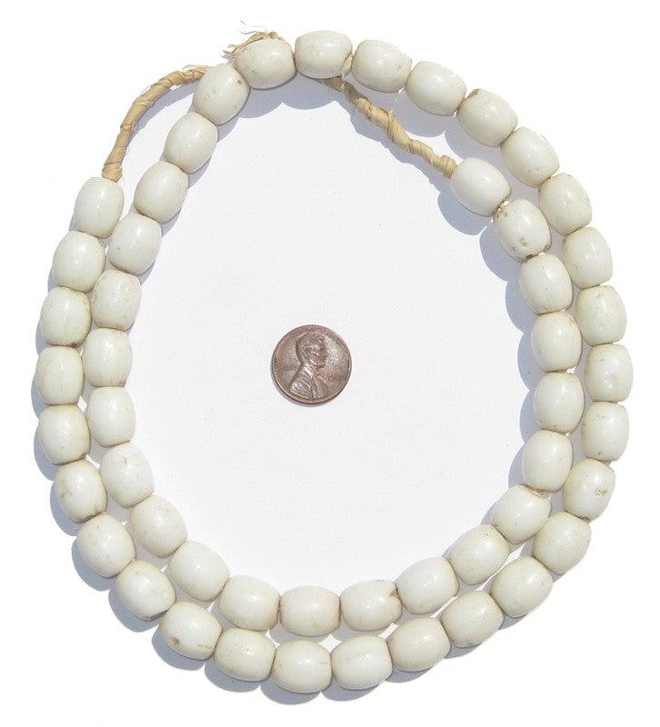 Bohemian Colodonte Beads (White) - The Bead Chest